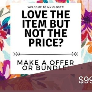 Offers & discounted bundles